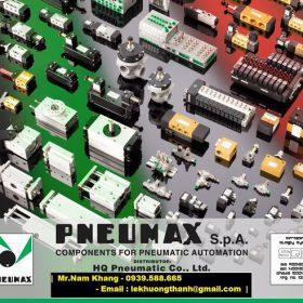 Solenoid Valve Pneumax Van Điện Từ Pneumax Made Italy