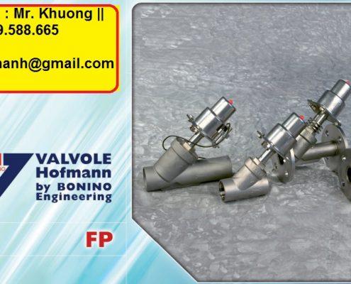 FP94 angle seat valve